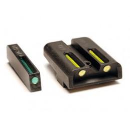 Mířidla Truglo TFO pro Glock žlutá/zelená (GT1Y)